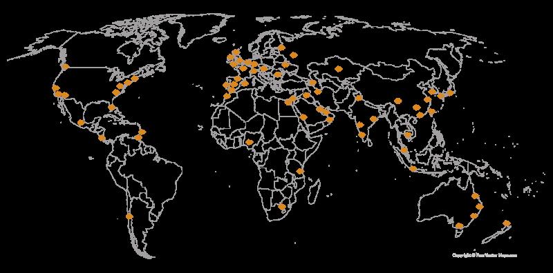 Solus International Map